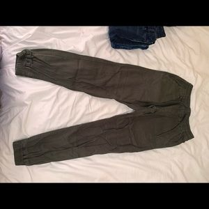 Publish Brand green joggers with deep pockets